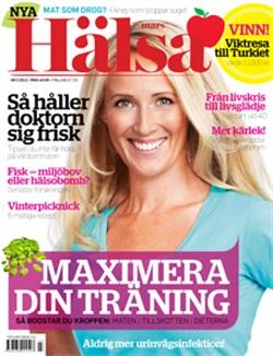 Zoë i Hälsa Tidningen, mars 2012