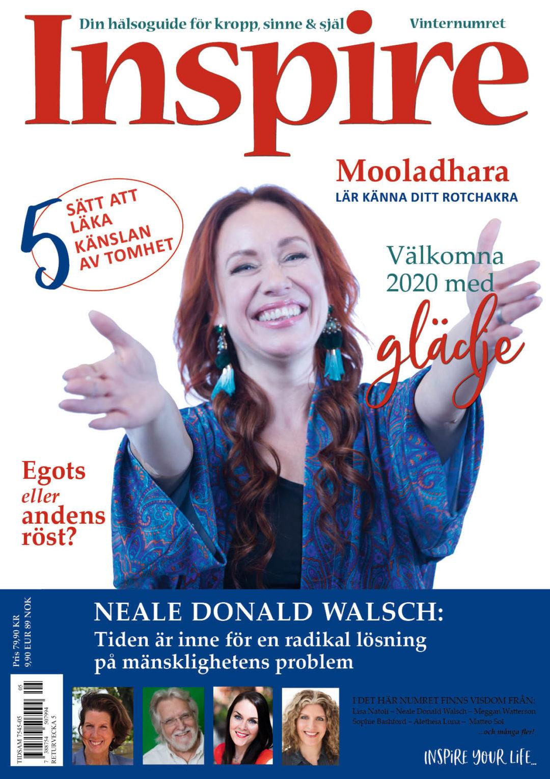 Zoës krönika, Inspire tidningen, december 2019