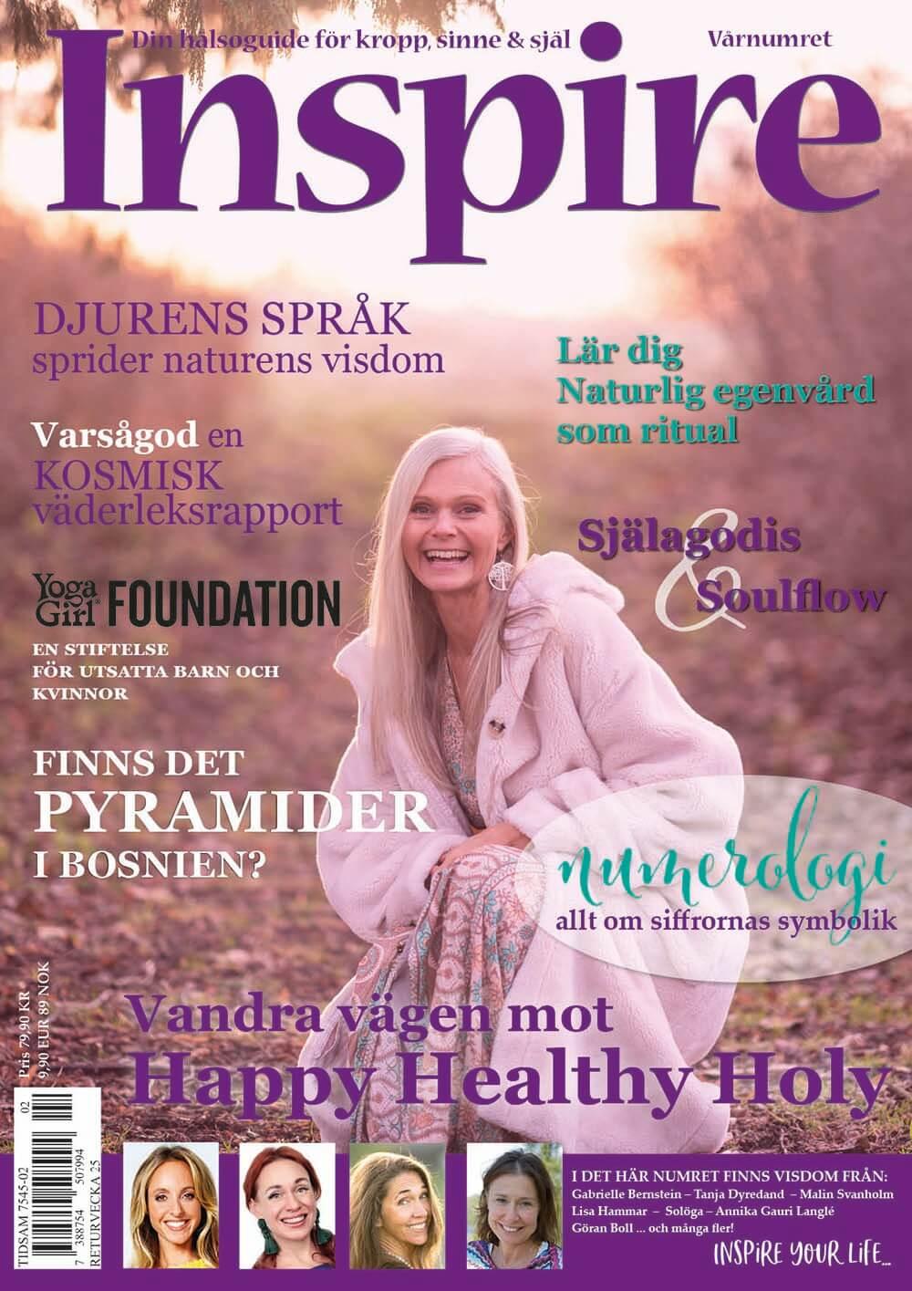 Zoës krönika, Inspire tidningen, april 2020
