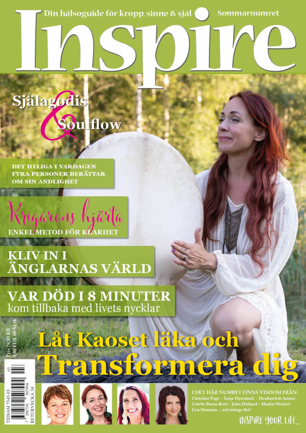 Zoës krönika, Inspire tidningen, juli 2020