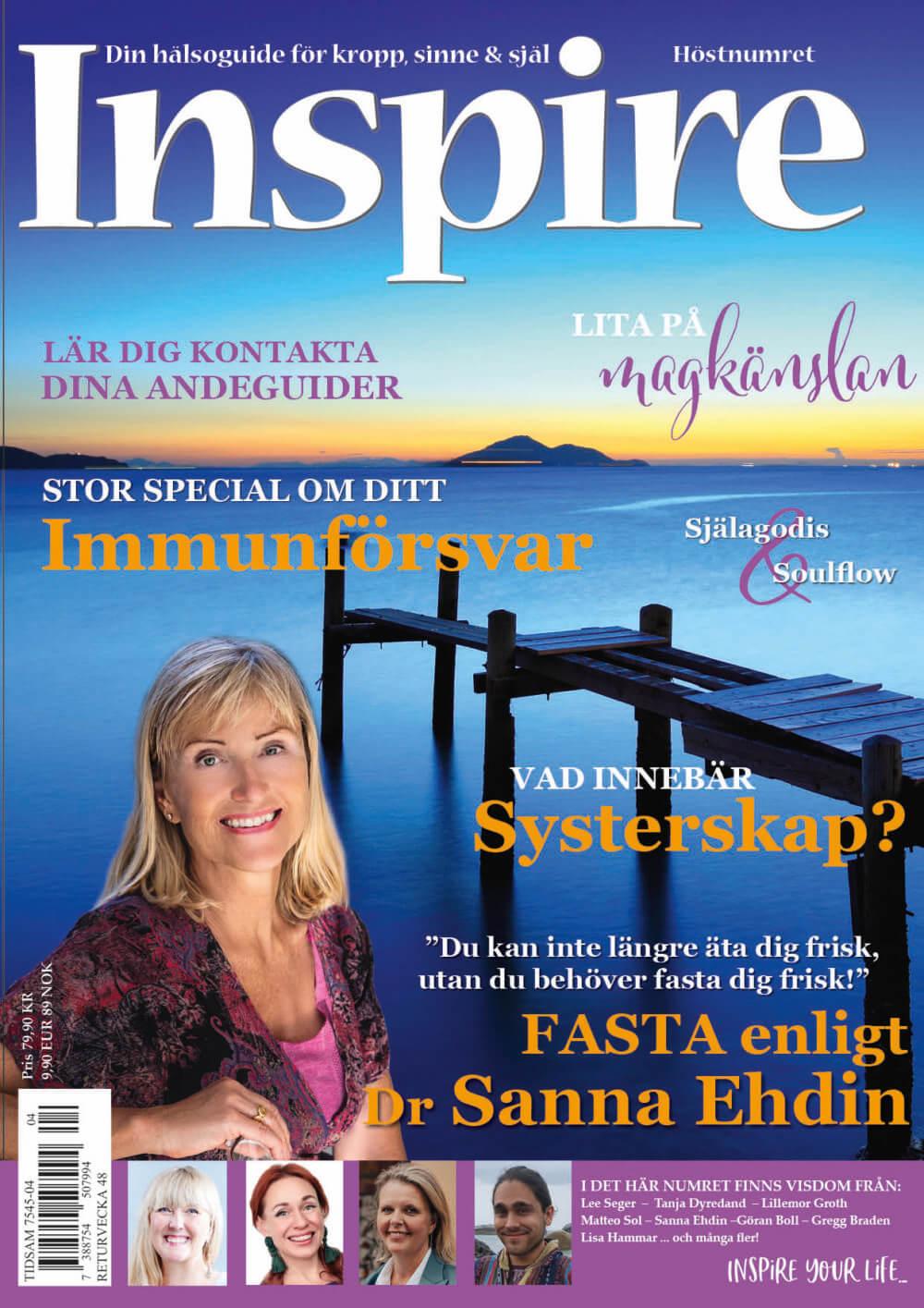 Zoës krönika, Inspire tidningen, september 2020