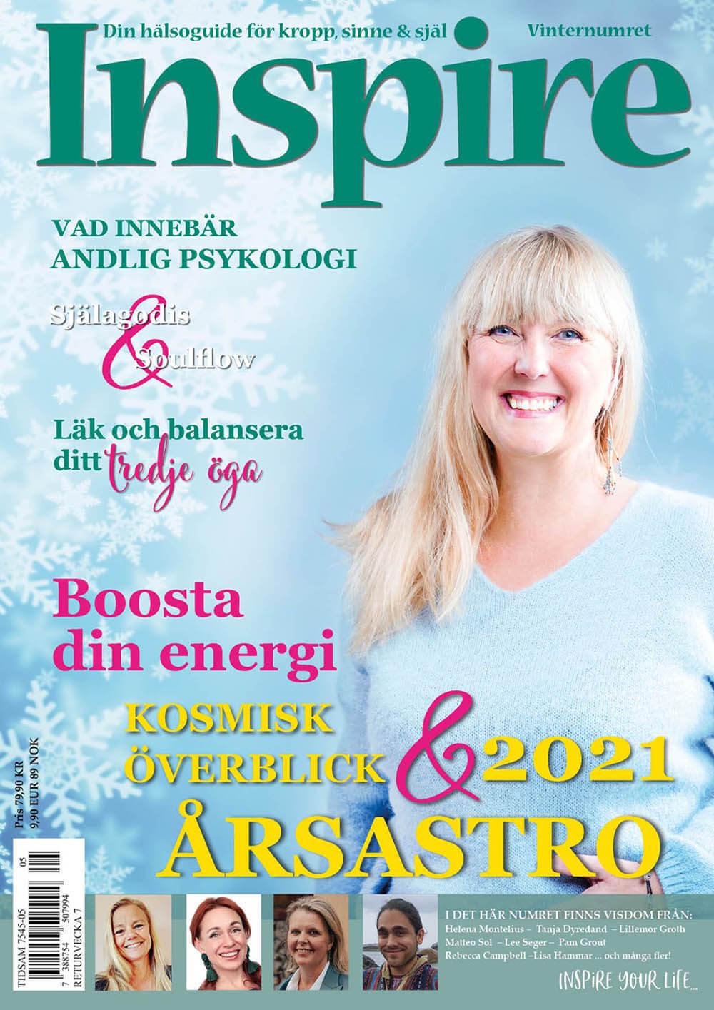 Zoës krönika, Inspire tidningen, december 2020